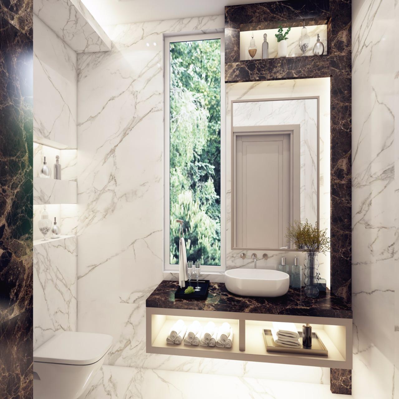 تصميم ديكورات حمامات بازار للتصميم الداخلى والديكور